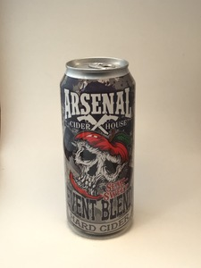 **LOCAL** Arsenal Cider House - Semi-Sweet (16oz Can)